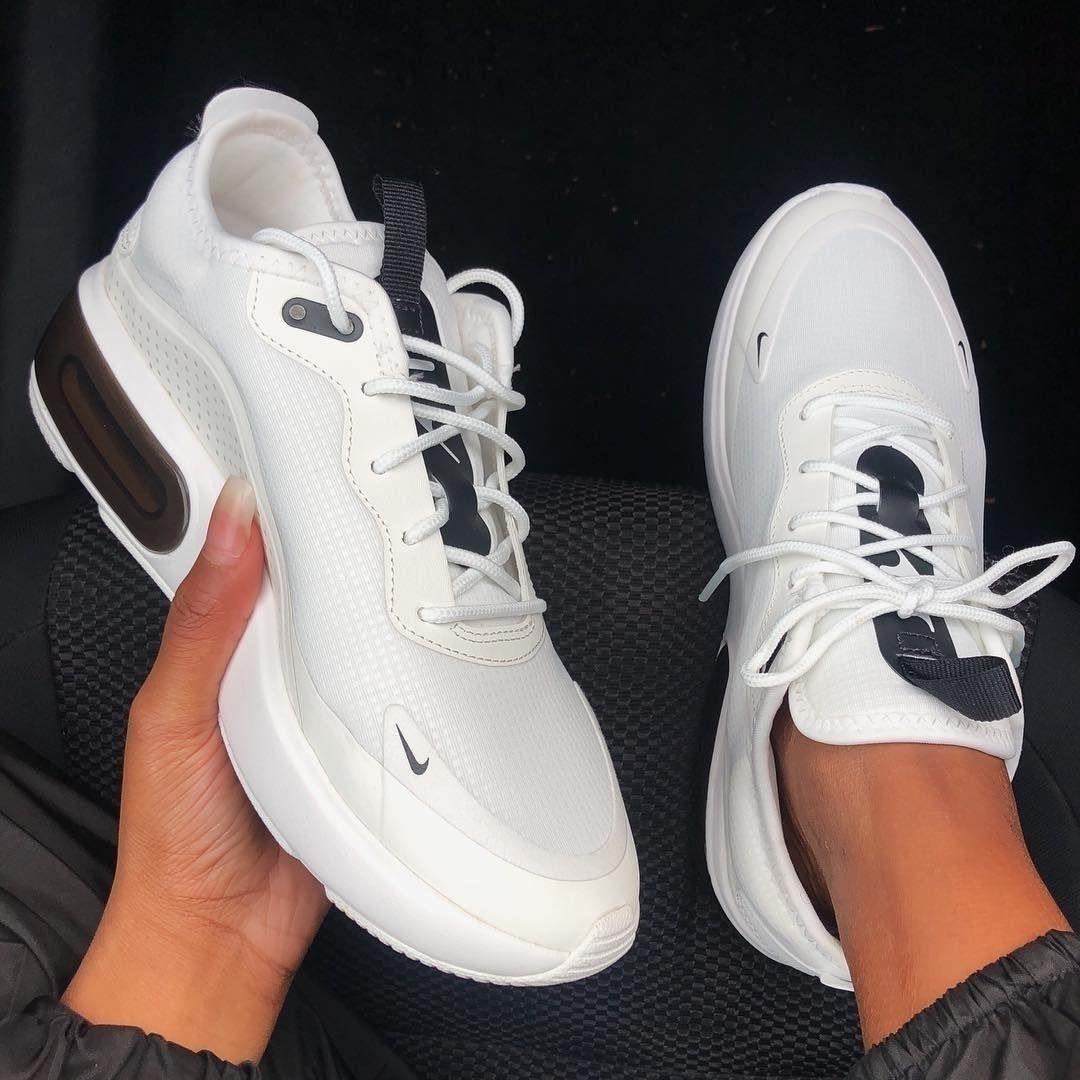 Nike Air Max Dia - Women's Shoe - White | Nike air max white ...