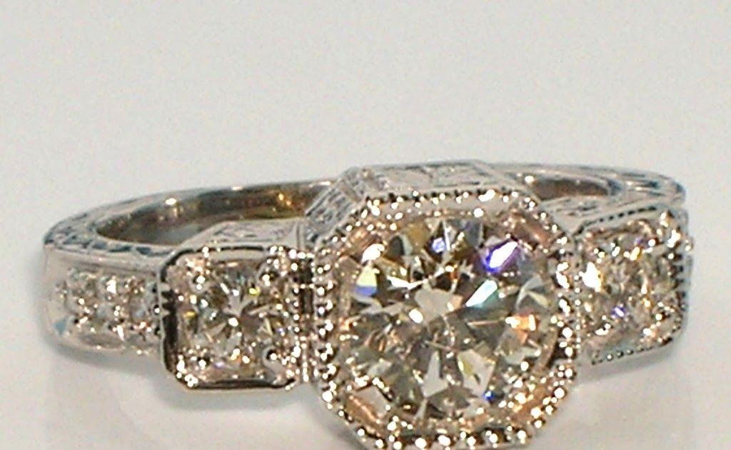Vintage inspired engagement rings for sale near me ...
