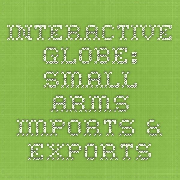 Interactive Globe Small Arms Imports  Exports   armsglobe