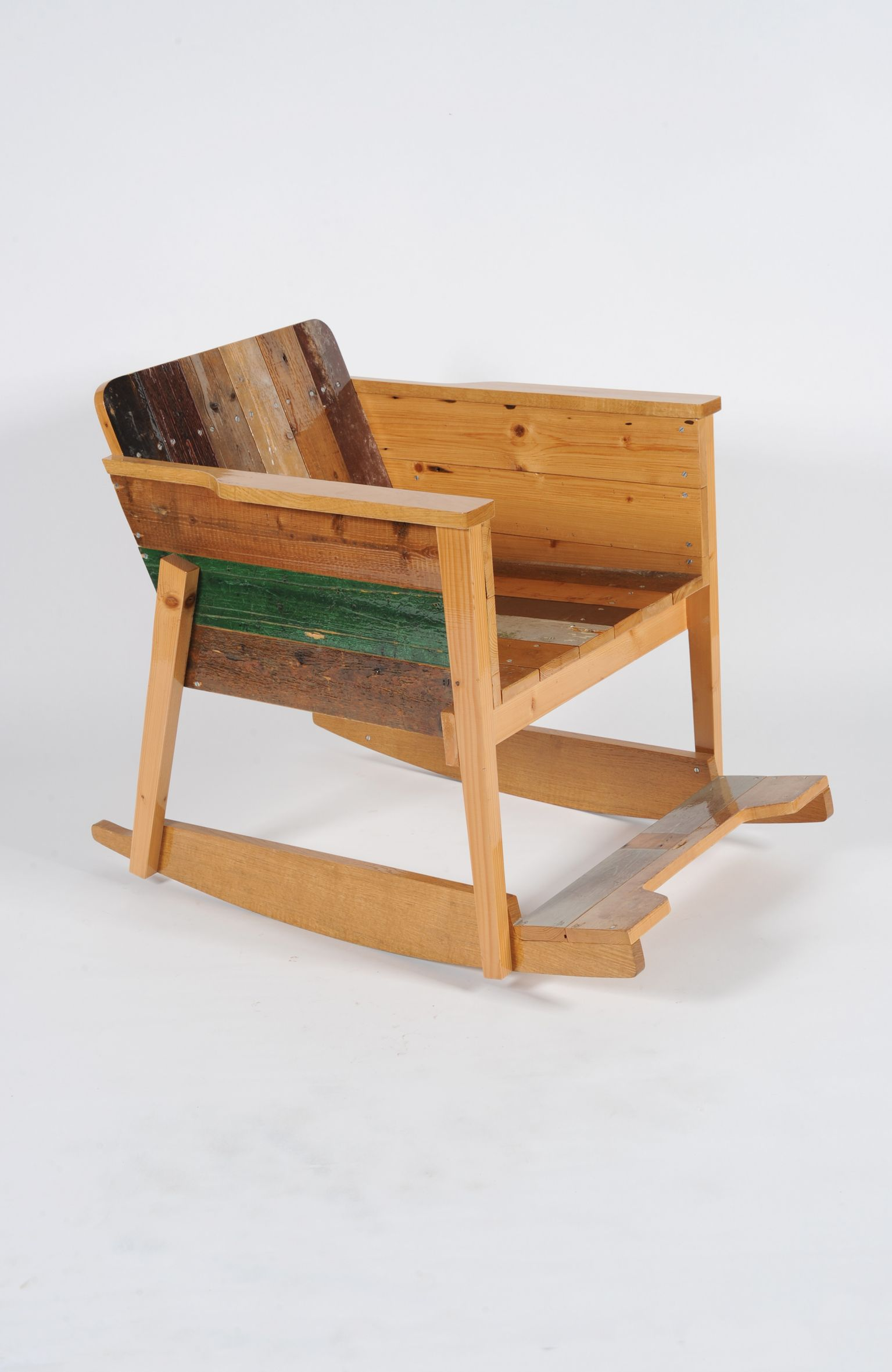 Superieur Scrap Wood Rocking Chair / Año: 2002 / Vendidas: 69 Desde 2007