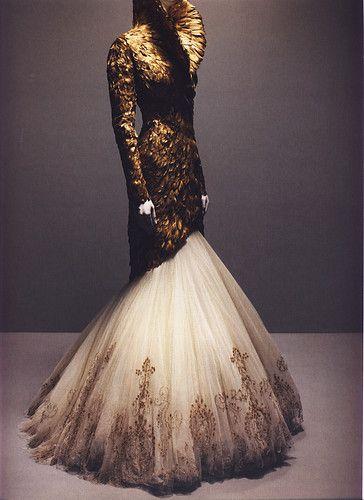 Alexander McQueen Couture Dresses
