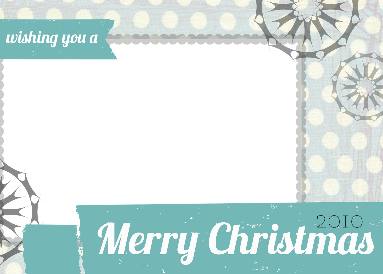 Attractive Free Christmas Photo Card Templates Throughout Free Xmas Card Template