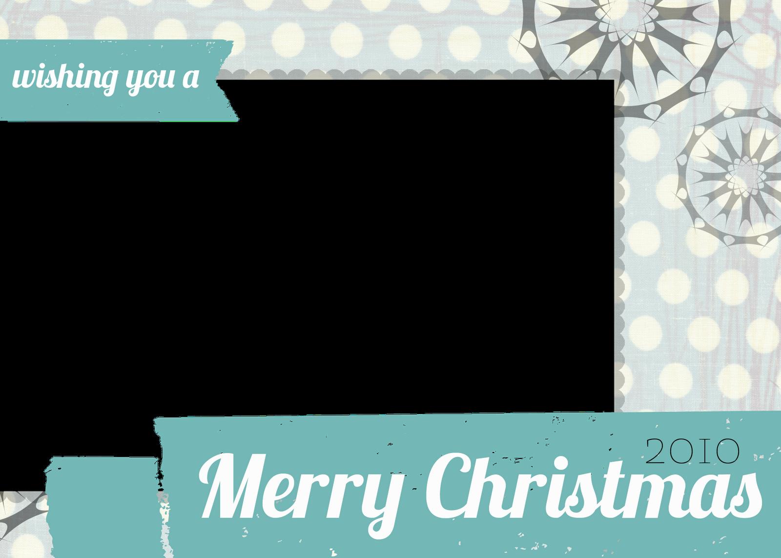 Free Christmas Photo Card Templates Free printable photo
