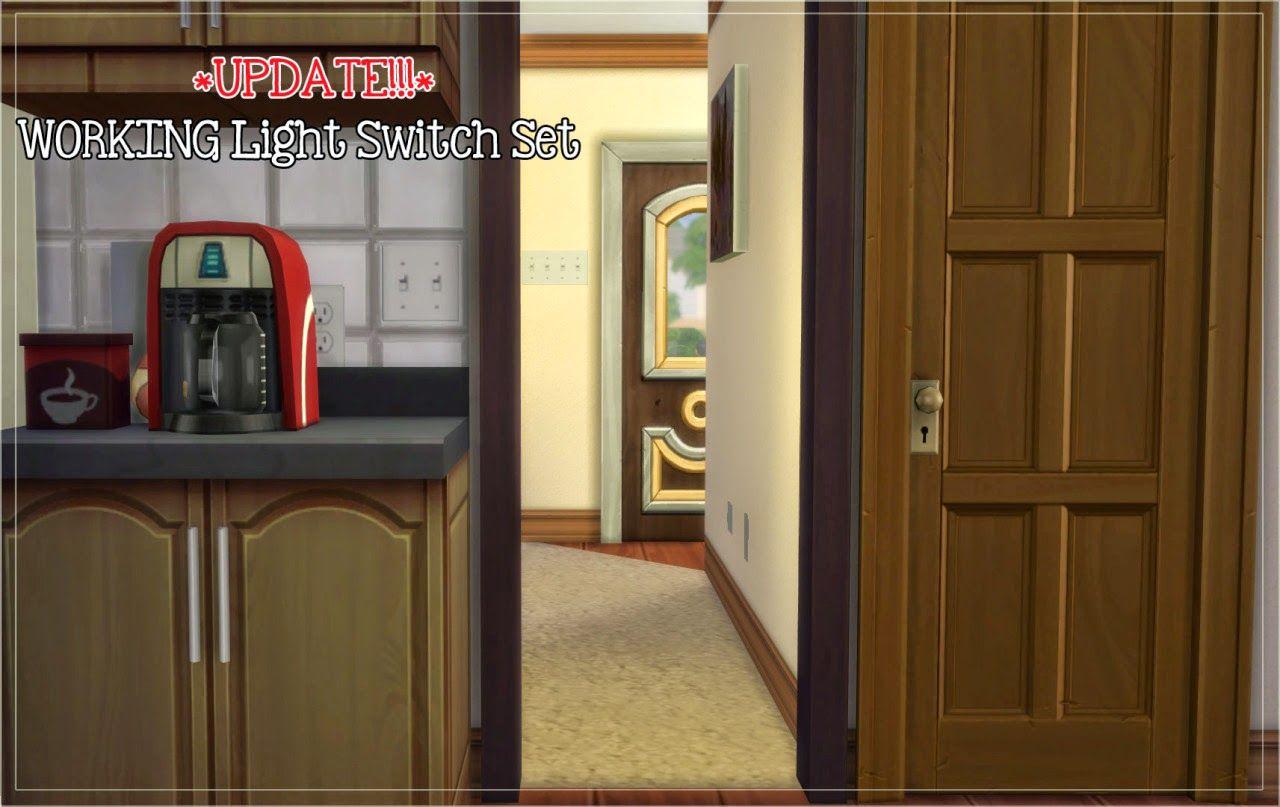 My Sims 4 Blog: Mods - Lighting | Work lights, Tall ...