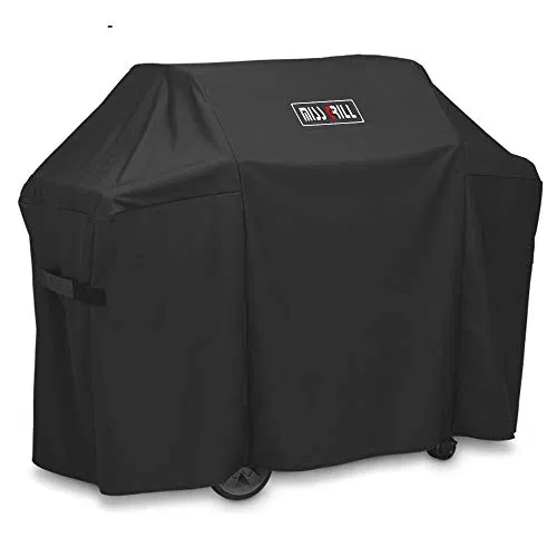 Dallascover Grill Cover Fits Weber Genesis Ii 3 Burner Grill And Genesis Best Offer Backyardequip Com In 2020 Grill Cover Outdoor Barbeque Barbeque Grill