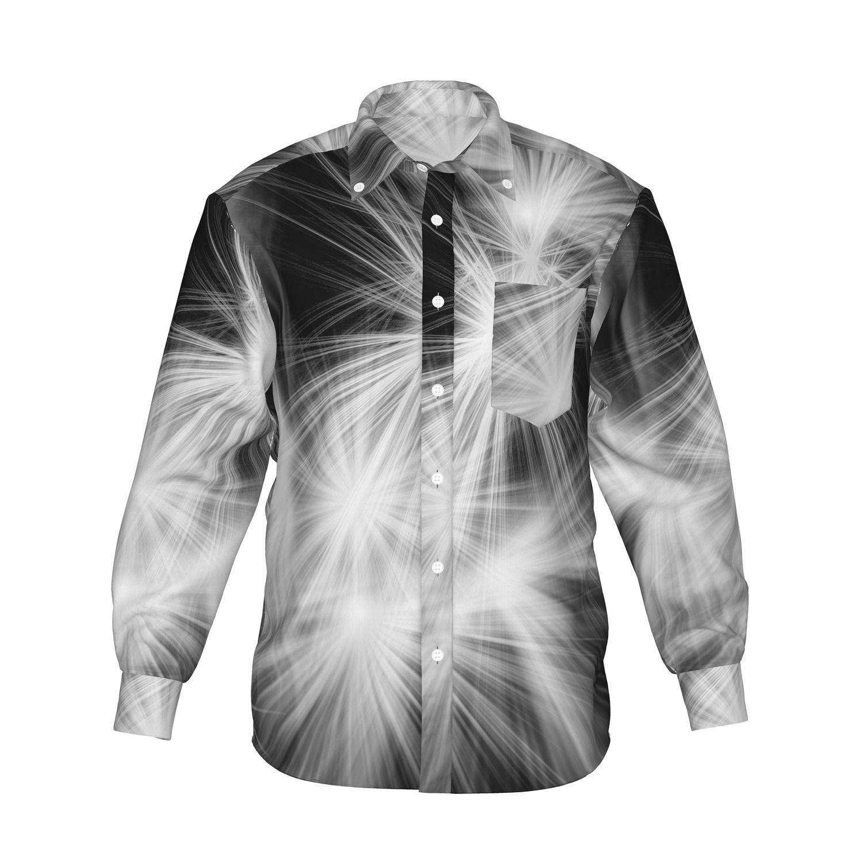 『Shine グラフィックシャツ ホワイト』 - 7th Spirits