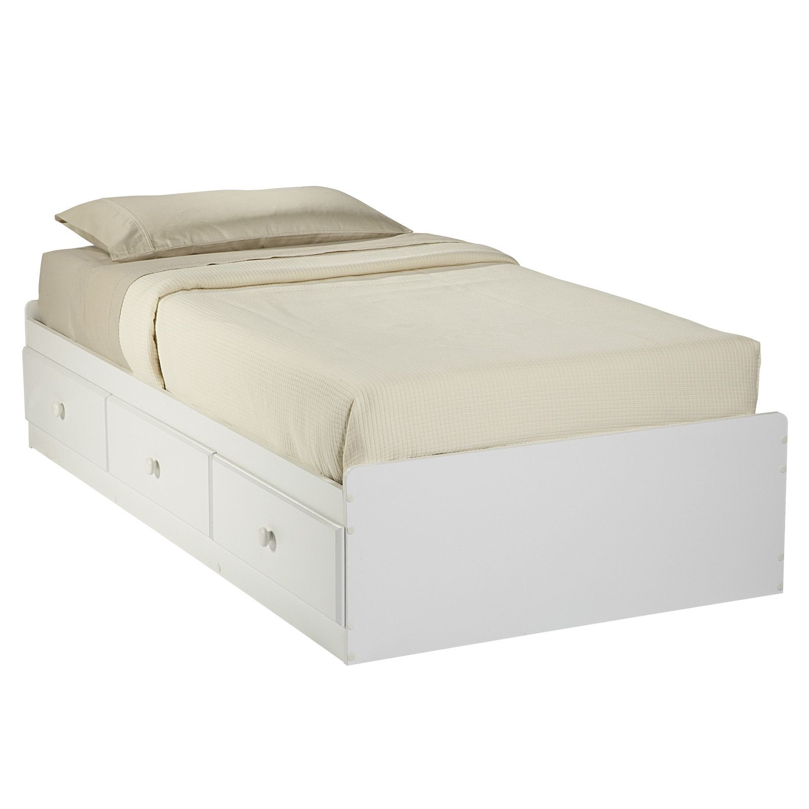 This is it. This bed has three large storage drawers for