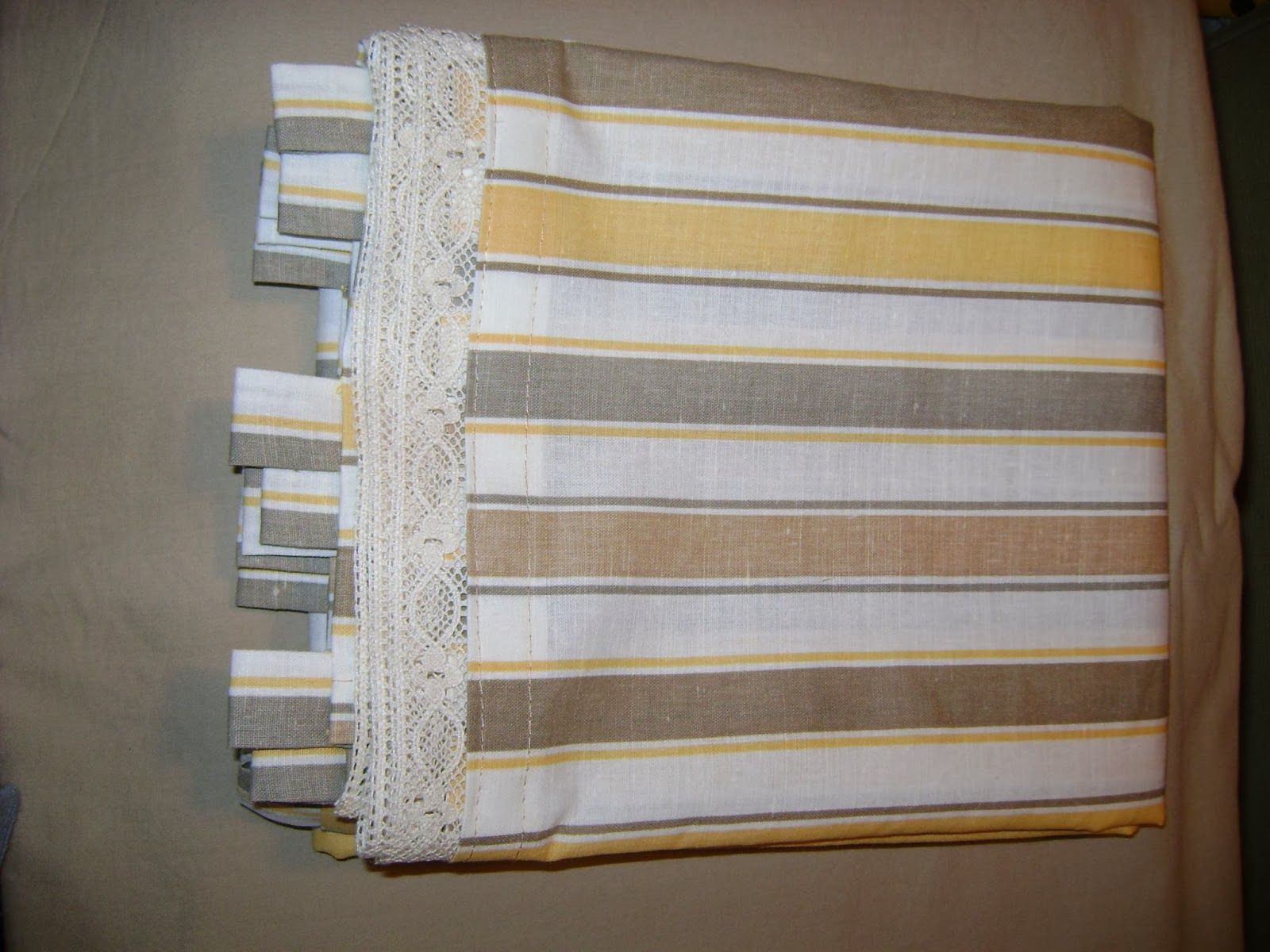 Homemade curtains - Perdea Bucatarie Kitchen Curtains