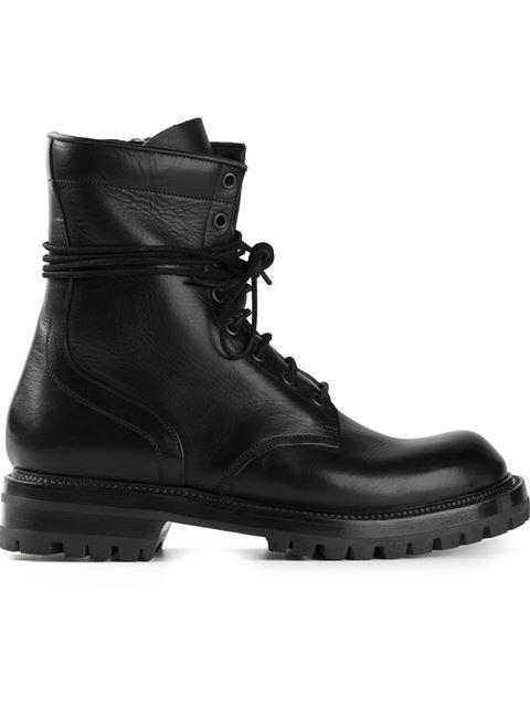f9cafb50d4ea Rick Owens Lace-up Boots - Degli Effetti Men - Farfetch.com ...
