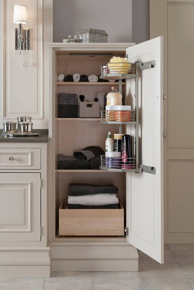 Organization is a wonderful thing with Wood-Mode and Brookhaven http://www.KNSales.com/Cabinet/Wood-Mode-Cabinets/