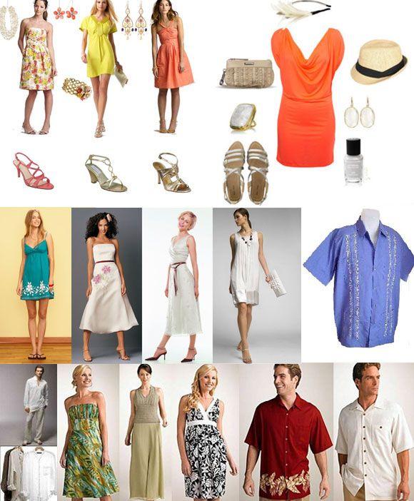 Formal Beach Wedding Attire For Women Her A More Summer Sundress With Flat
