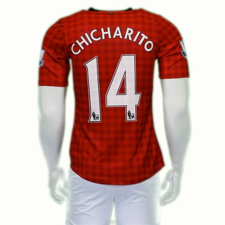 MANCHESTER UNITED HOME SOCCER JERSEY CHICHARITO