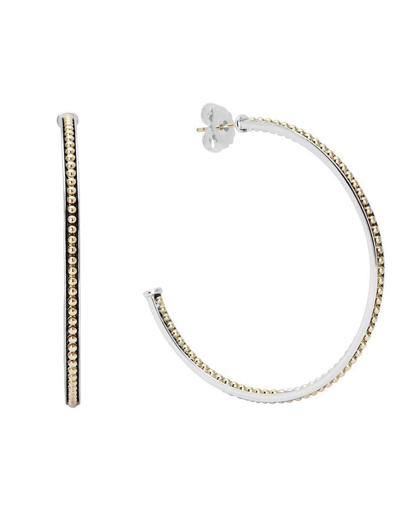 Enso Hoop Earrings | LAGOS.com