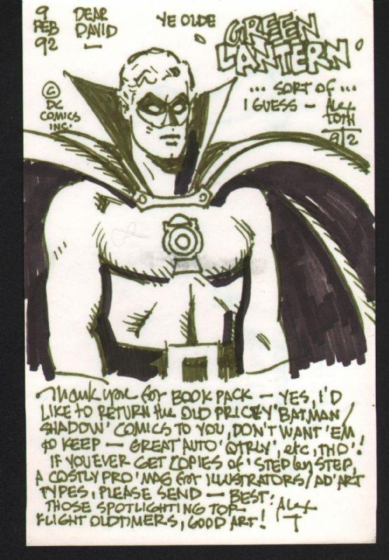 Alex Toth - Superfriends Alan Scott Green Lantern ...