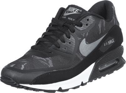 reputable site 59a76 d64c1 Nike Air Max 90 Premium Tape schwarz grau