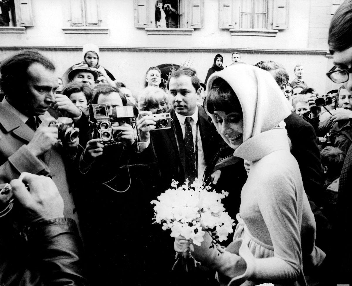 Rare Audrey Hepburn — On January 18, 1969, at age39 Audrey Hepburn's wedding