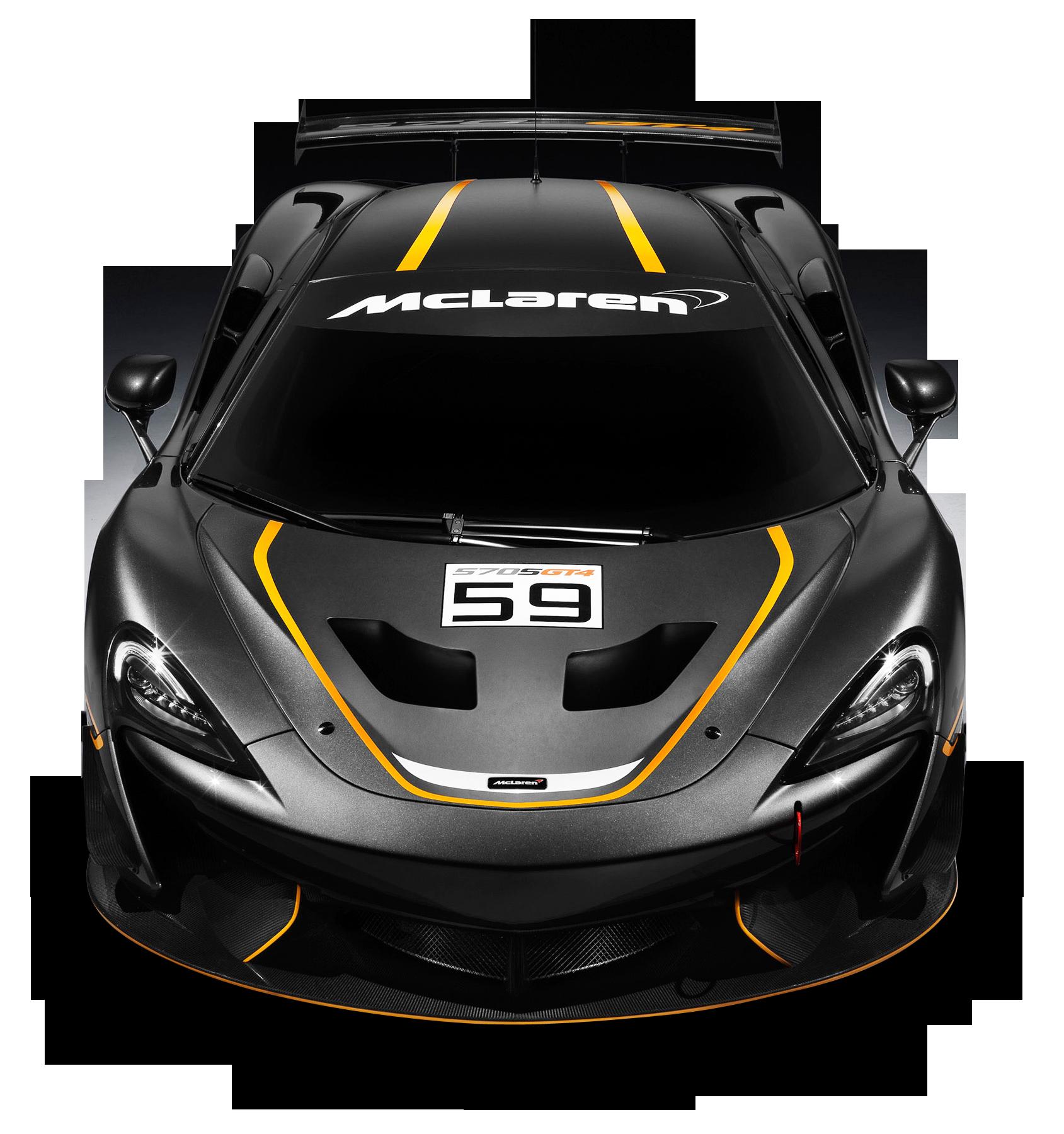 Black Mclaren 570s Gt4 Race Car Png Image Mclaren Race Cars Black Mercedes Benz
