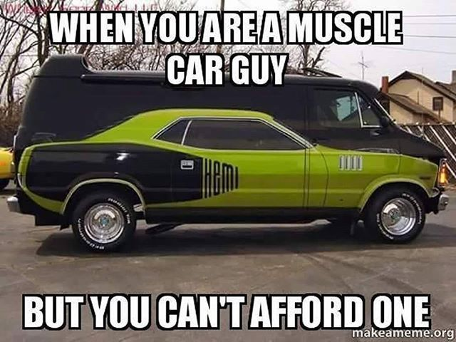 Muscle Car Lovers Will Get This Funny Cars Muscle Cars Funny