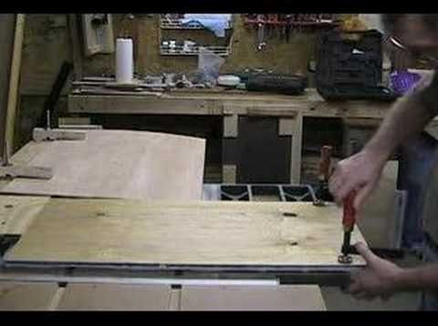 Cuting a taper with a Taper Jig