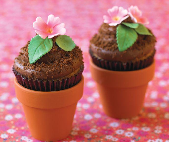 Nämä upeat leivokset kukkapurkissa ilahduttavat jokaista.