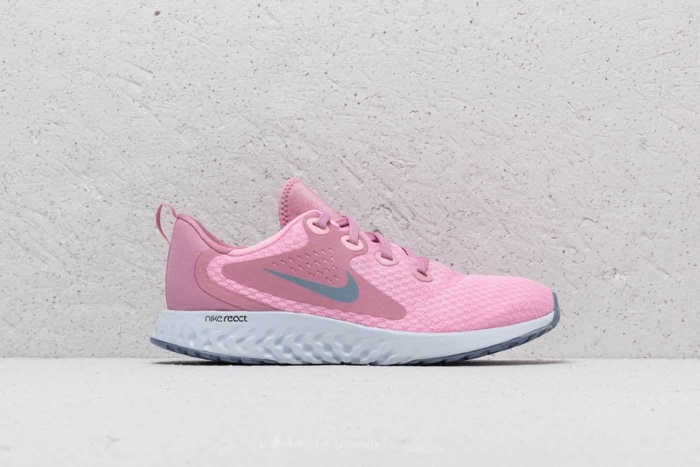 huge selection of 009df 70209 Nike Legend React (GS) Pink Ashen Slate fashion shoes shoesaddict  schuhe design boots runningshoes sneakers footwear foot footgear ...