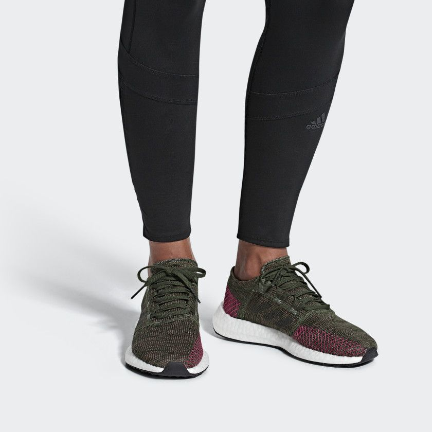 434cfd602ba30 Pureboost Go Shoes Green 10 Womens | Shoes | Adidas sneakers, Adidas ...