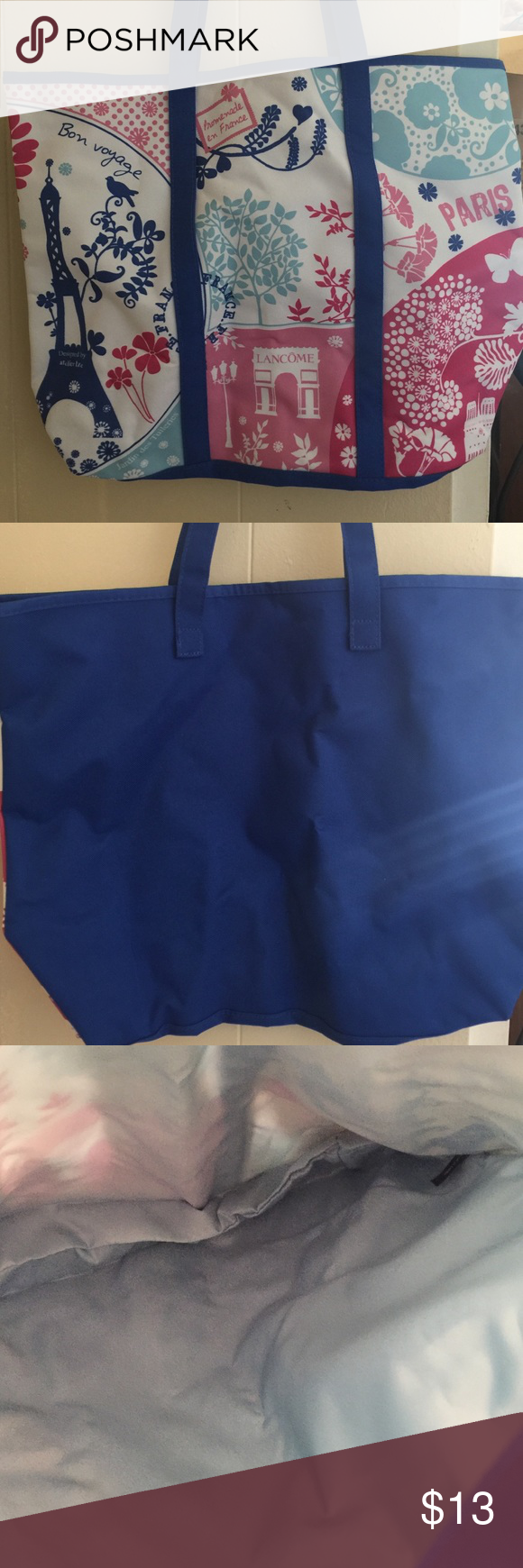Lancôme Shopping Tote Lancôme Shopping Tote. Brand new but old style. Lancome Bags Totes