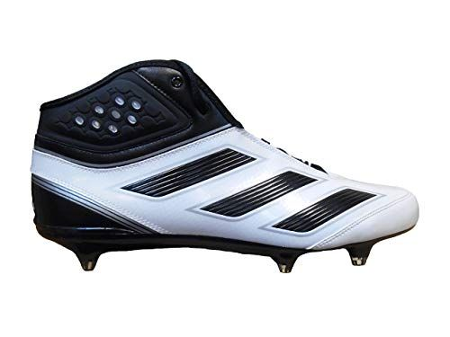 new arrivals b9d6a 8a7d1 adidas Men s Malice 2 Detachable Football Cleats (16, Running White Black Metallic  Silver)