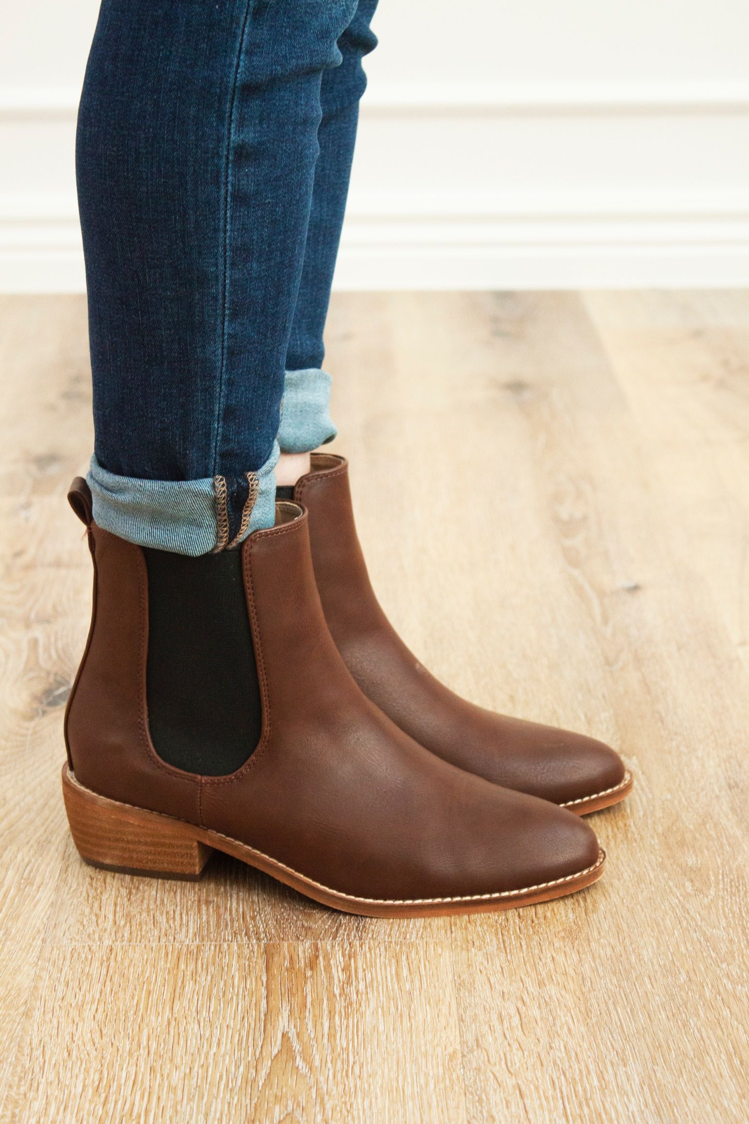 202ac0eae55d9 Chase Ankle Boot // Brown | Love Winnie James Collection. | Brown ...