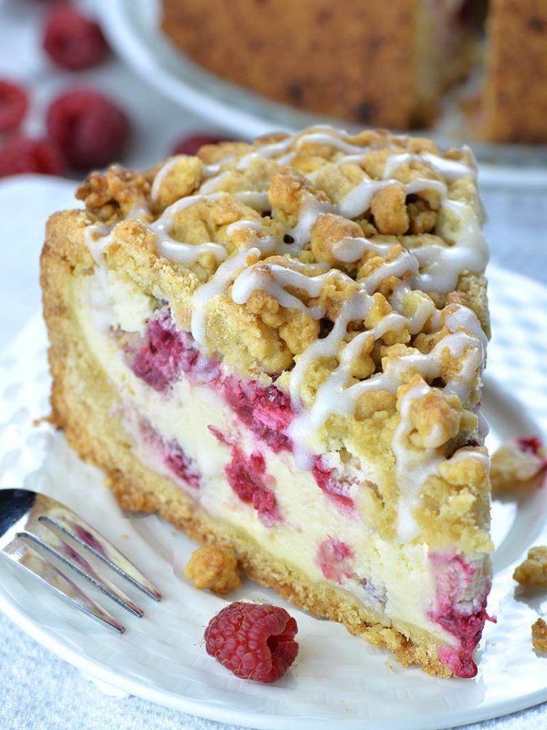Raspberry Cheesecake Crumb Cake Recipe Coffee Cake Cake
