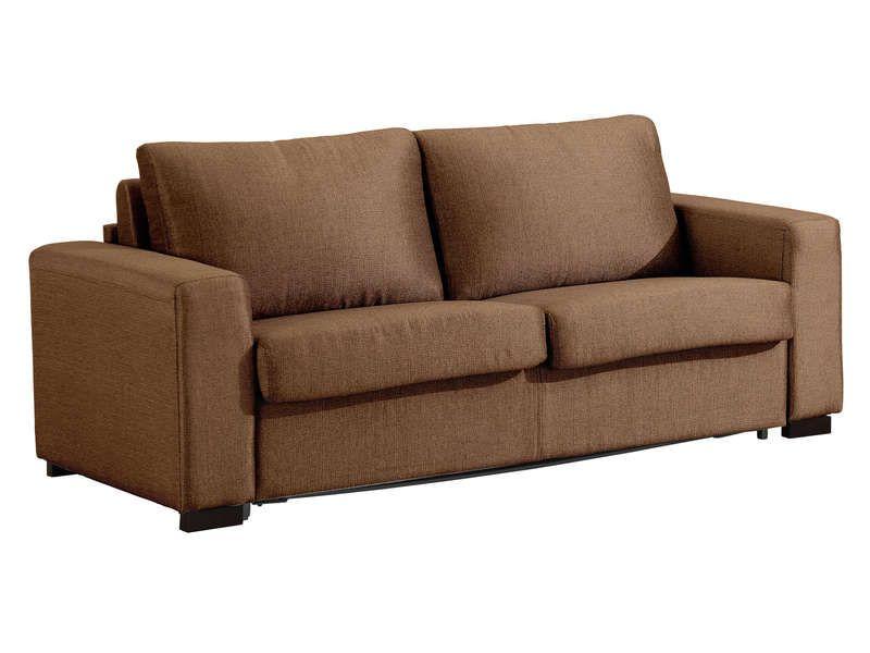 canap fixe convertible 3 places en tissu films. Black Bedroom Furniture Sets. Home Design Ideas