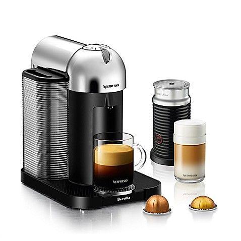 Nespresso By Breville Vertuoline Coffee And Espresso Maker Bundle In Black #espressoathome