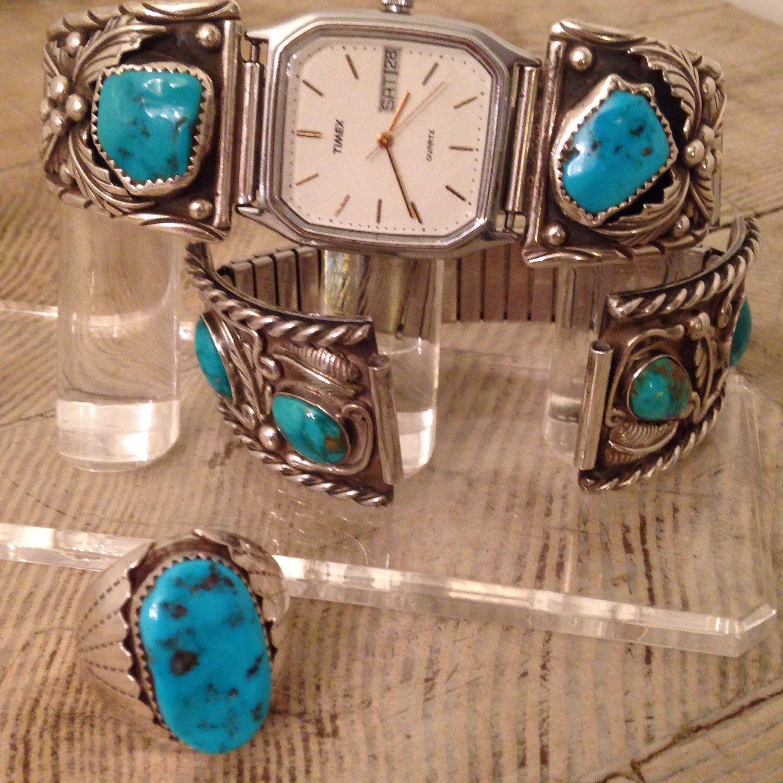 Latest vintage southwest mens jewelryjust listed amazing large