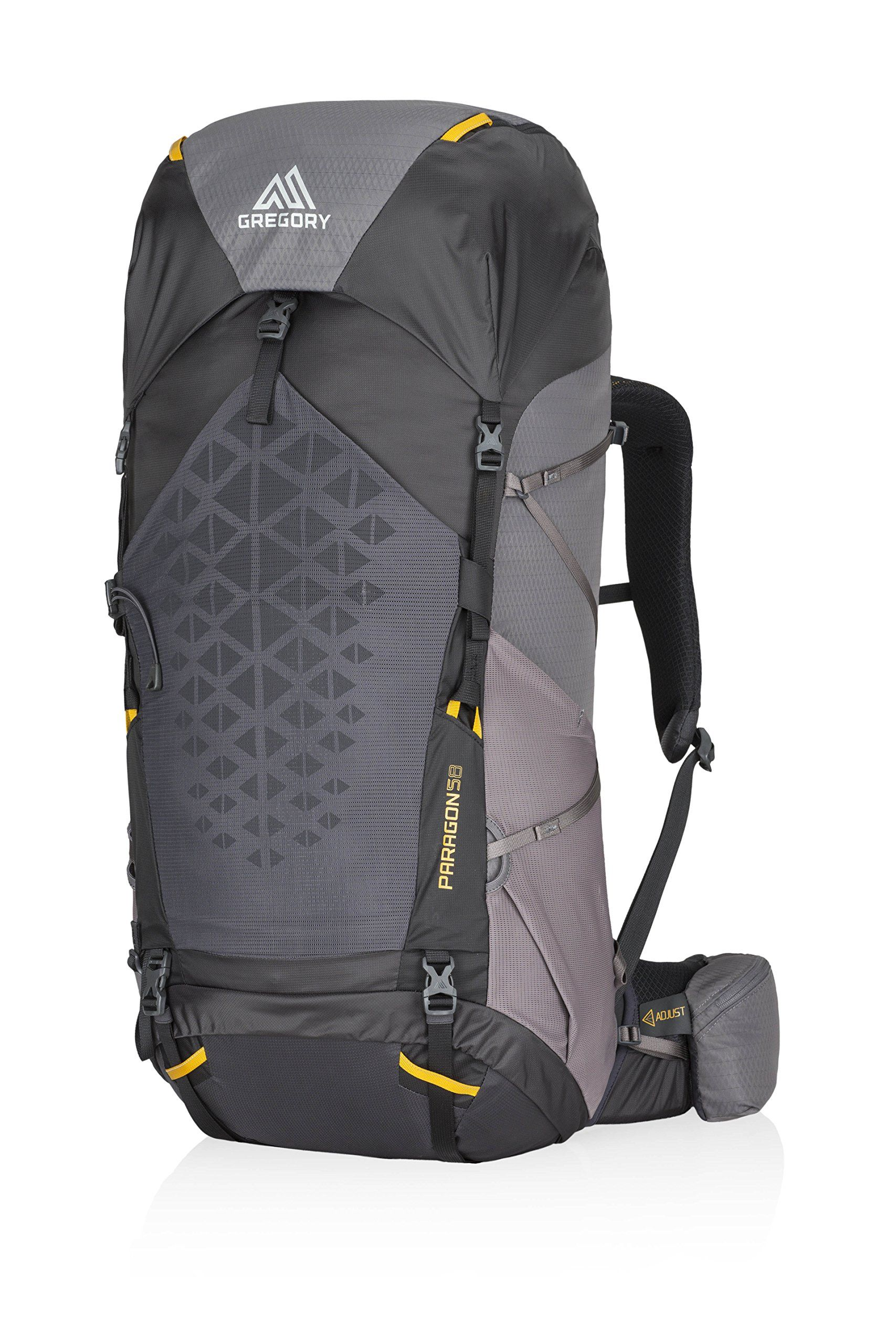 df466d66cfc Gregory Mountain Products Paragon 58 Liter Mens Backpack Sunset Grey  Small Medium   See this great product. (This is an affiliate link)