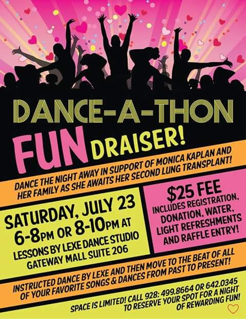DanceAThon Fundraiser For Monica Kaplan  DanceAThon