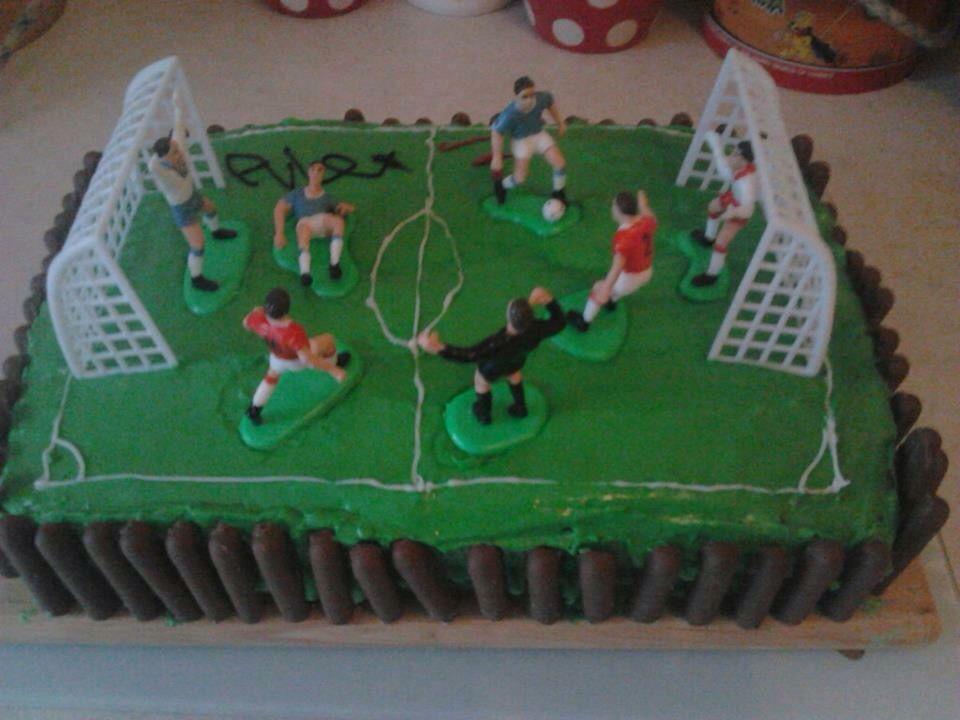 Soccer Birthday Cake Birthday Cakes Pinterest Soccer birthday