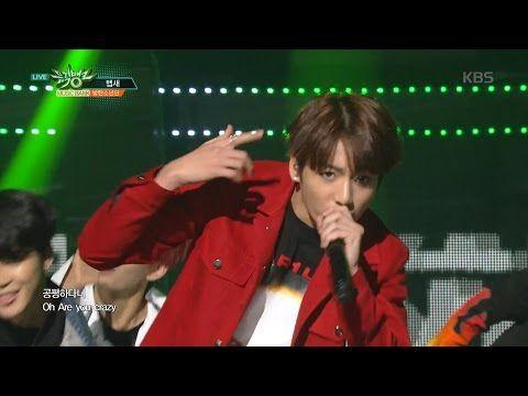 뮤직뱅크 - 방탄소년단, 넘볼 수 없는 카리스마! '뱁새'.20160513 - YouTube - Bapsae because it gets me hyped it is 5th <3