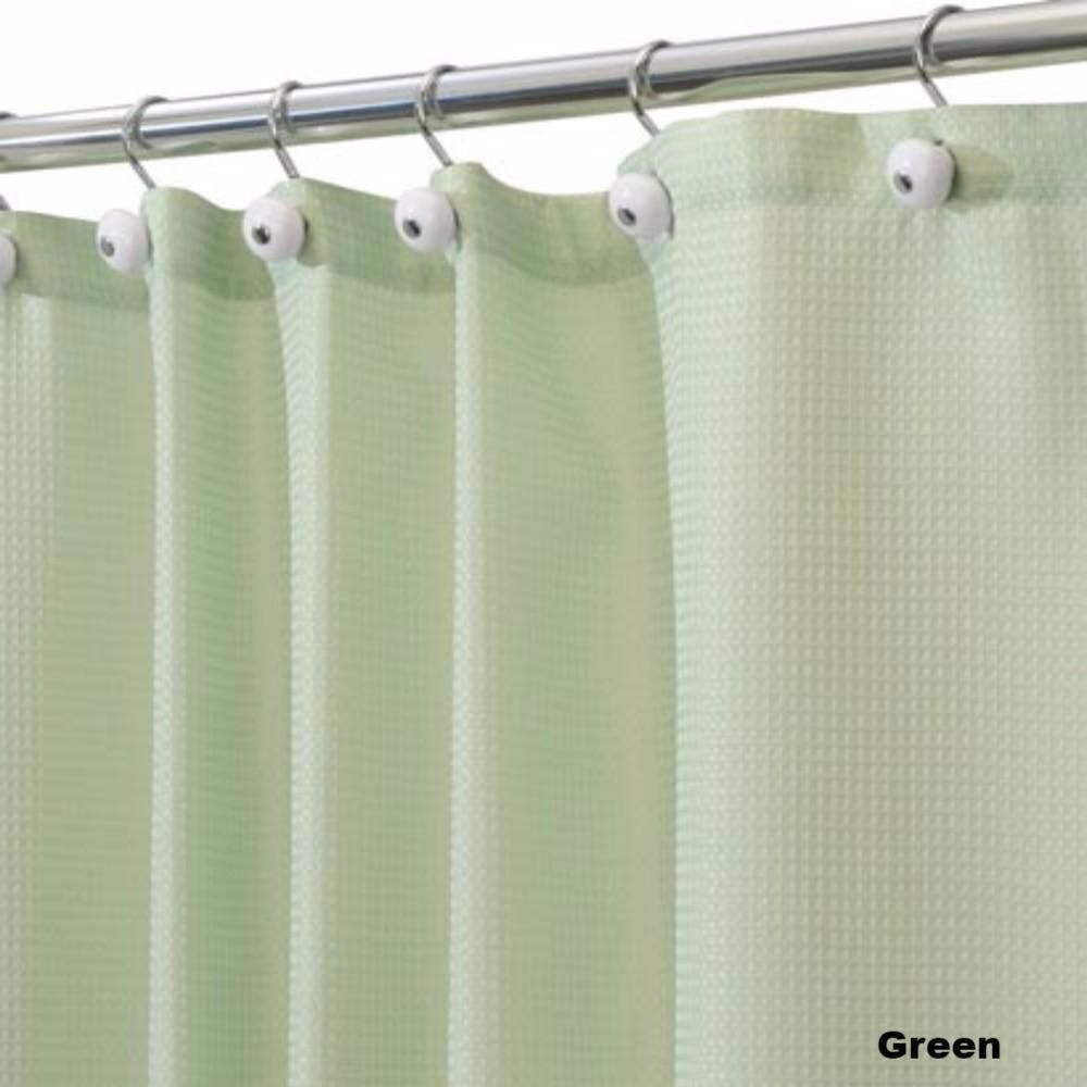 Carlton Fabric Shower Curtain Standard 108 Wide Or 84 Long