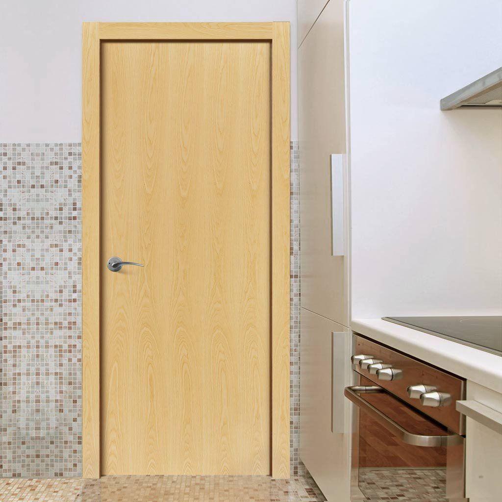 Flush Ash Veneer Fire Door Pre Finished 1 2 Hour Fire Rated Bathroom Doors Internal Doors Elegant Doors