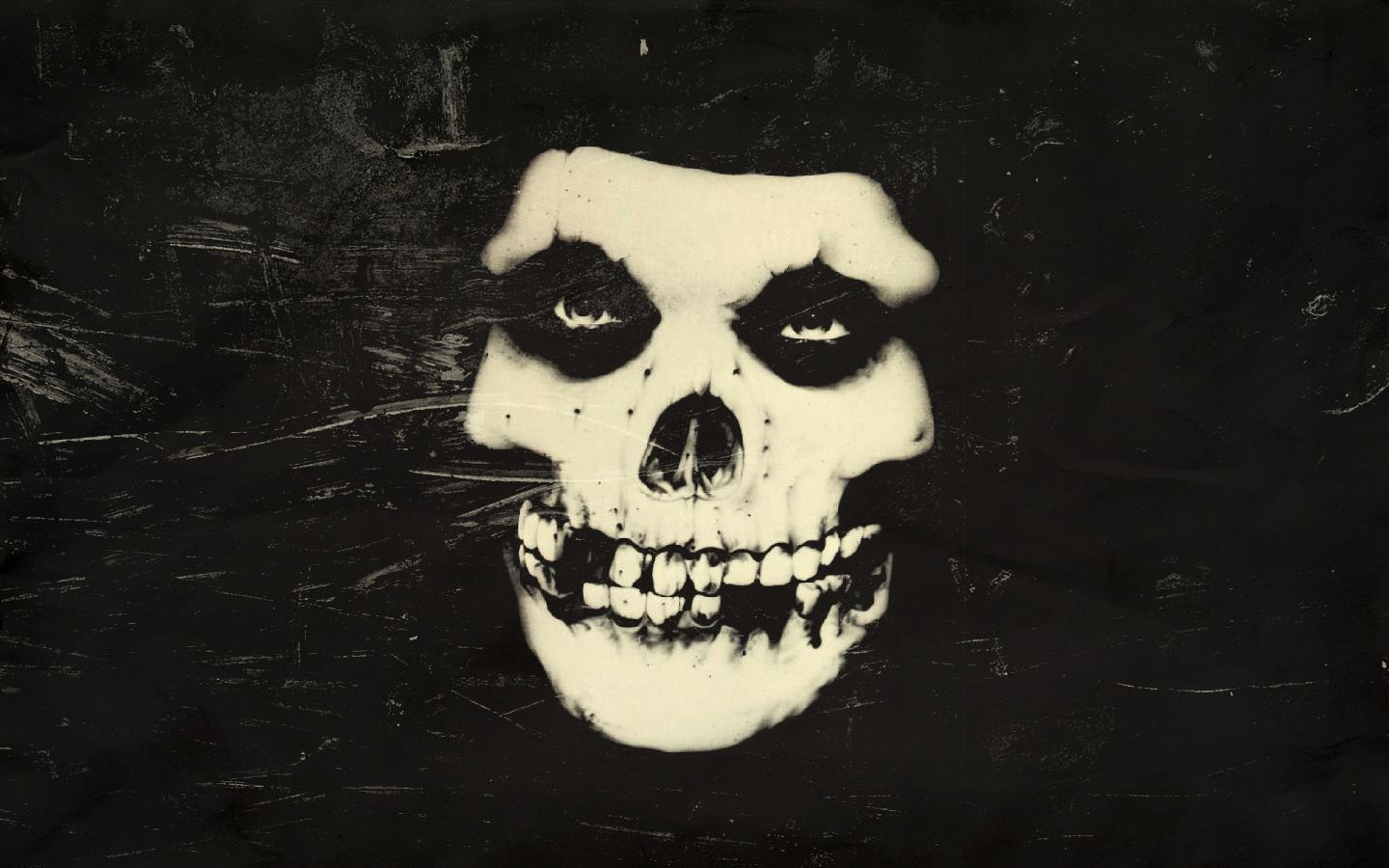 Misfits Wallpaper Hd Wallpapersafari Skull Painting Misfits