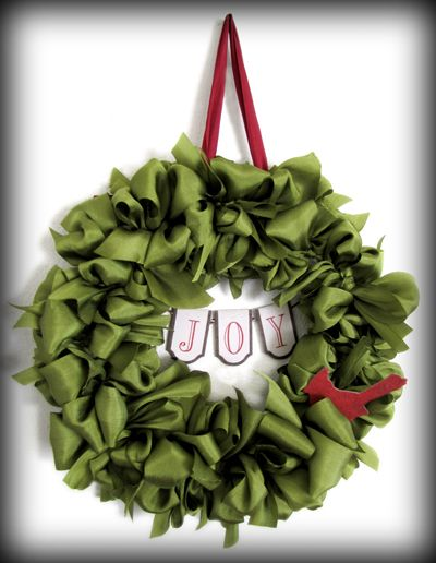 Photo of Make Your Own Ribbon Wreath – Online Ribbon – May Arts