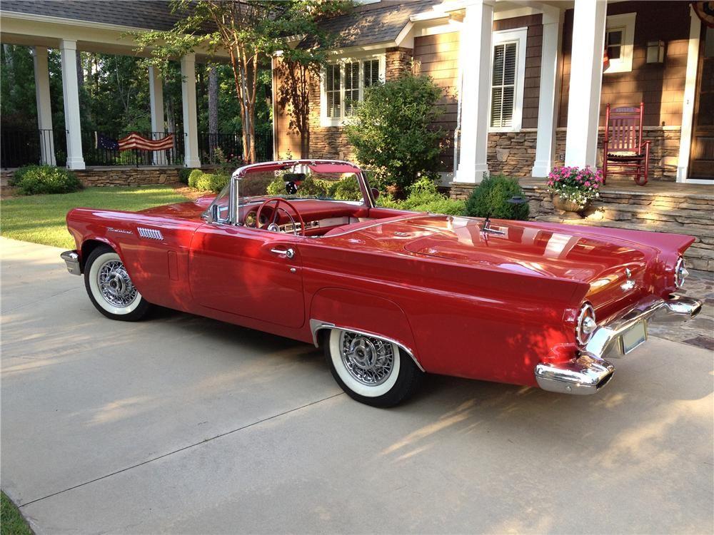 1957 FORD THUNDERBIRD E CONVERTIBLE - Barrett-Jackson Auction ...