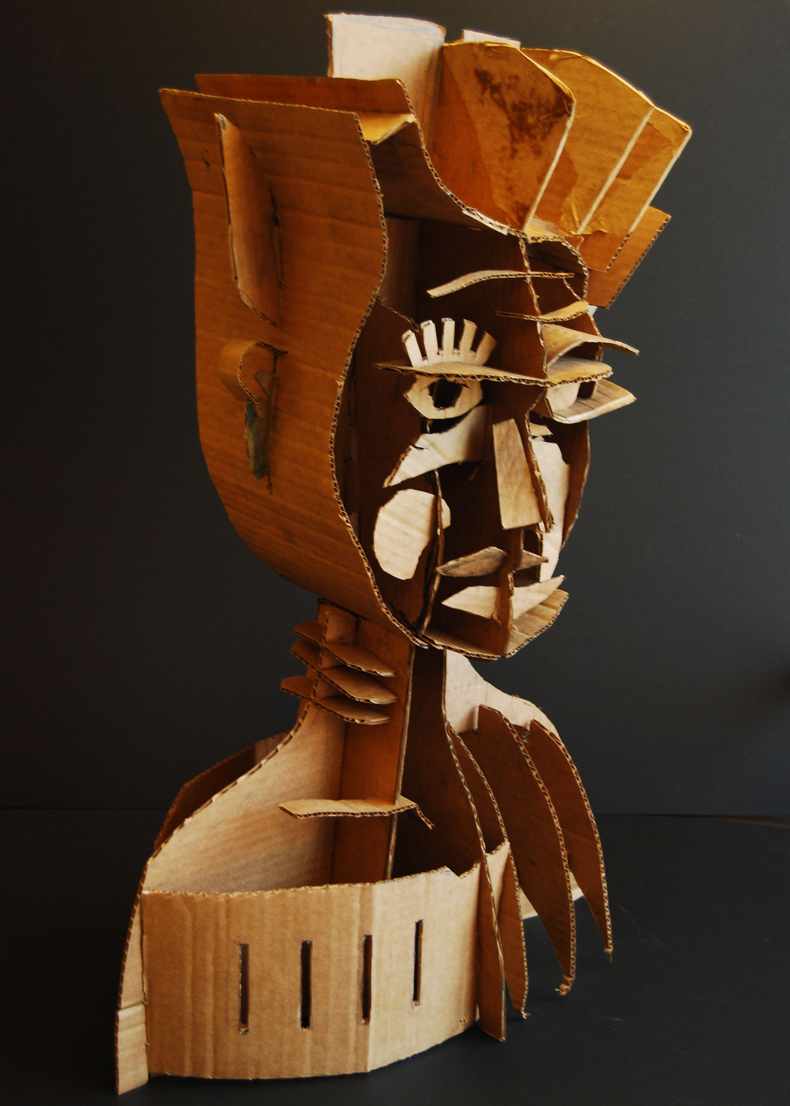 Sculpture Moderne Pas Cher Naum Gabo Inspired Cardboard Sculpture Lesson I Did At Cheltenham