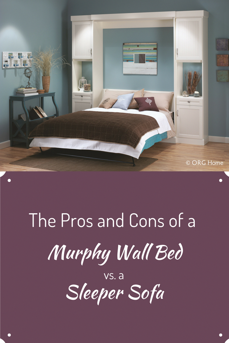 Tremendous The Pros And Cons Of A Murphy Wall Bed Vs A Sleeper Sofa Evergreenethics Interior Chair Design Evergreenethicsorg