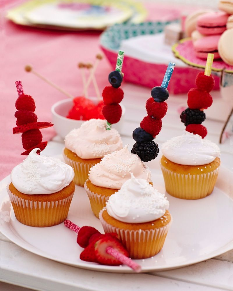 Accessorize with berries for an even sweeter dessert. The Poppytalk for Target collection launches June 22.