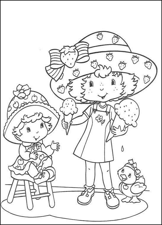 Dibujos para Colorear Fresita-Tarta de Fresa 1   Dibujos para ...