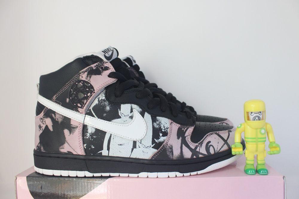 online store c1ccc c0ff7 eBay Sponsored Nike SB Unkle SZ 10.5 DS dunkle mo wax dunk high premium  futura 305050-013