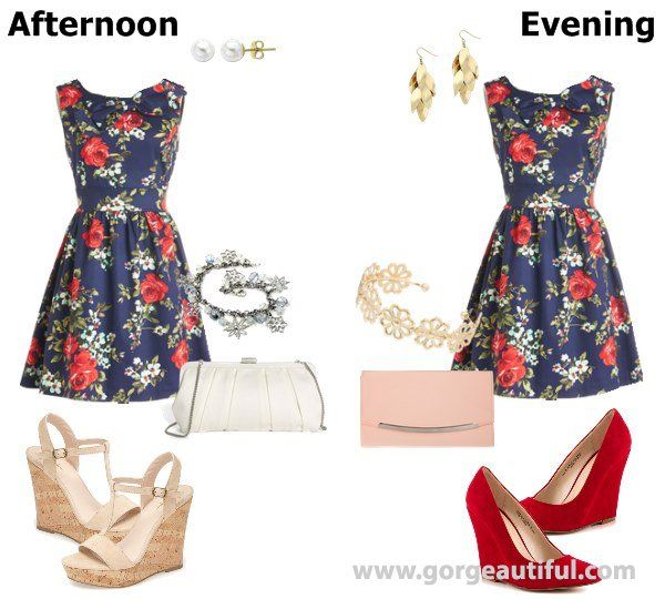 Wedding Guest Attire Wear Part Classic Cocktail Dress Spring Outfit