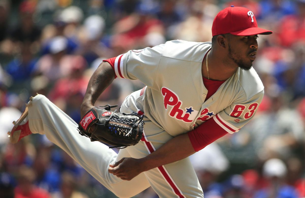 Rangers acquire Joely Rodriguez from the Phillies Ranger