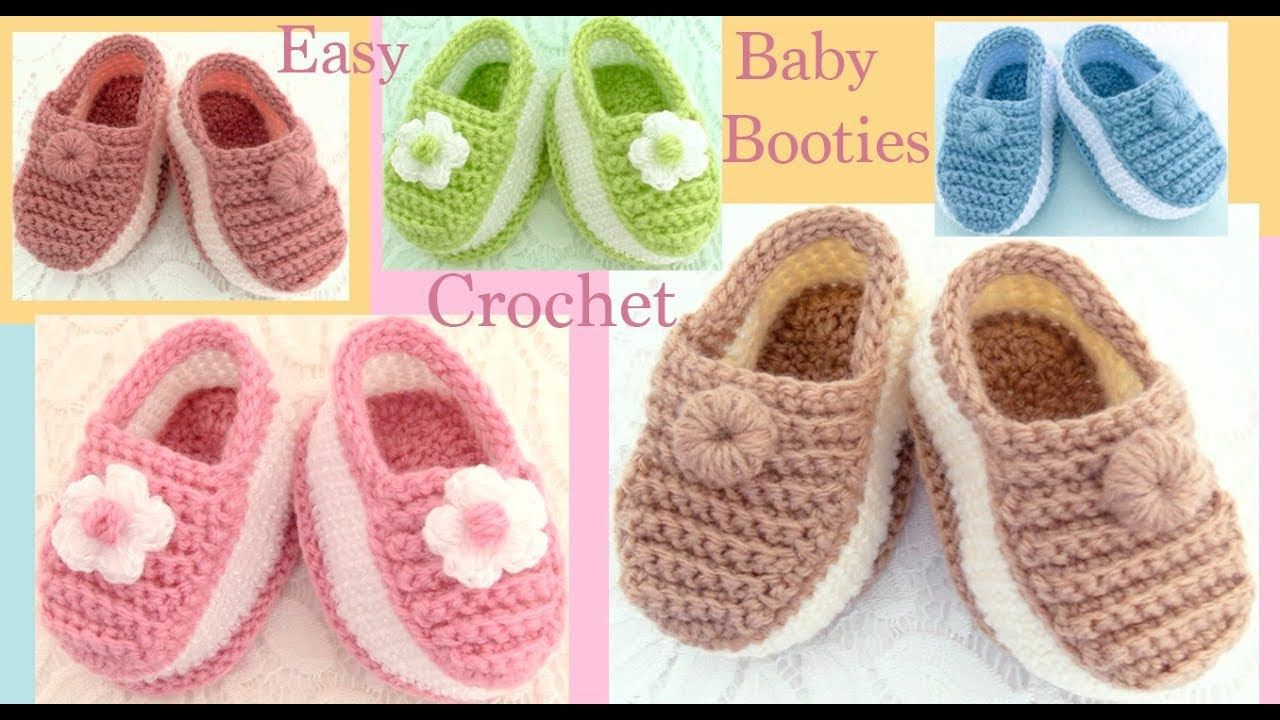 Pantuflas A Crochet Para Bebes Niñas Niños Tejido Paso A Paso Tallerma Tejido Paso A Paso Zapatos De Ganchillo Zapatos De Bebé De Ganchillo